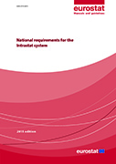 National requirements for the Intrastat system - 2015 edition