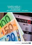 Cover Image Compilers guide on European statistics on natural gas and electricity prices
