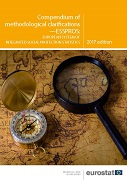 Cover Image Compendium of methodological clarifications — ESSPROS, European system of integrated social protection statistics — 2017 edition