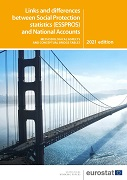 Links and differences between social protection statistics (ESSPROS) and national accounts — Methodological aspects and conceptual bridge tables — 2021 edition