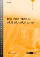 Task force report on adult education survey