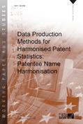 Data Production Methods for Harmonised Patent Statistics: Patentee Name Harmonisation