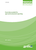 Farm data needed for agri-environmental reporting