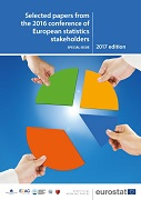 Selected papers from the 2016 Conference of European Statistics Stakeholders — Special issue