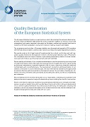 Quality declaration of the European statistical system