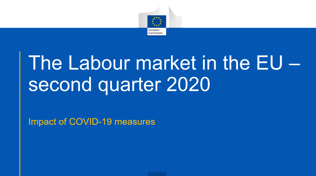 Powerpoint presentation - The labour market in the EU the second quarter of 2020