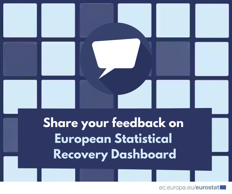 Share your feedback on European Statistical Recovery Dashboard: