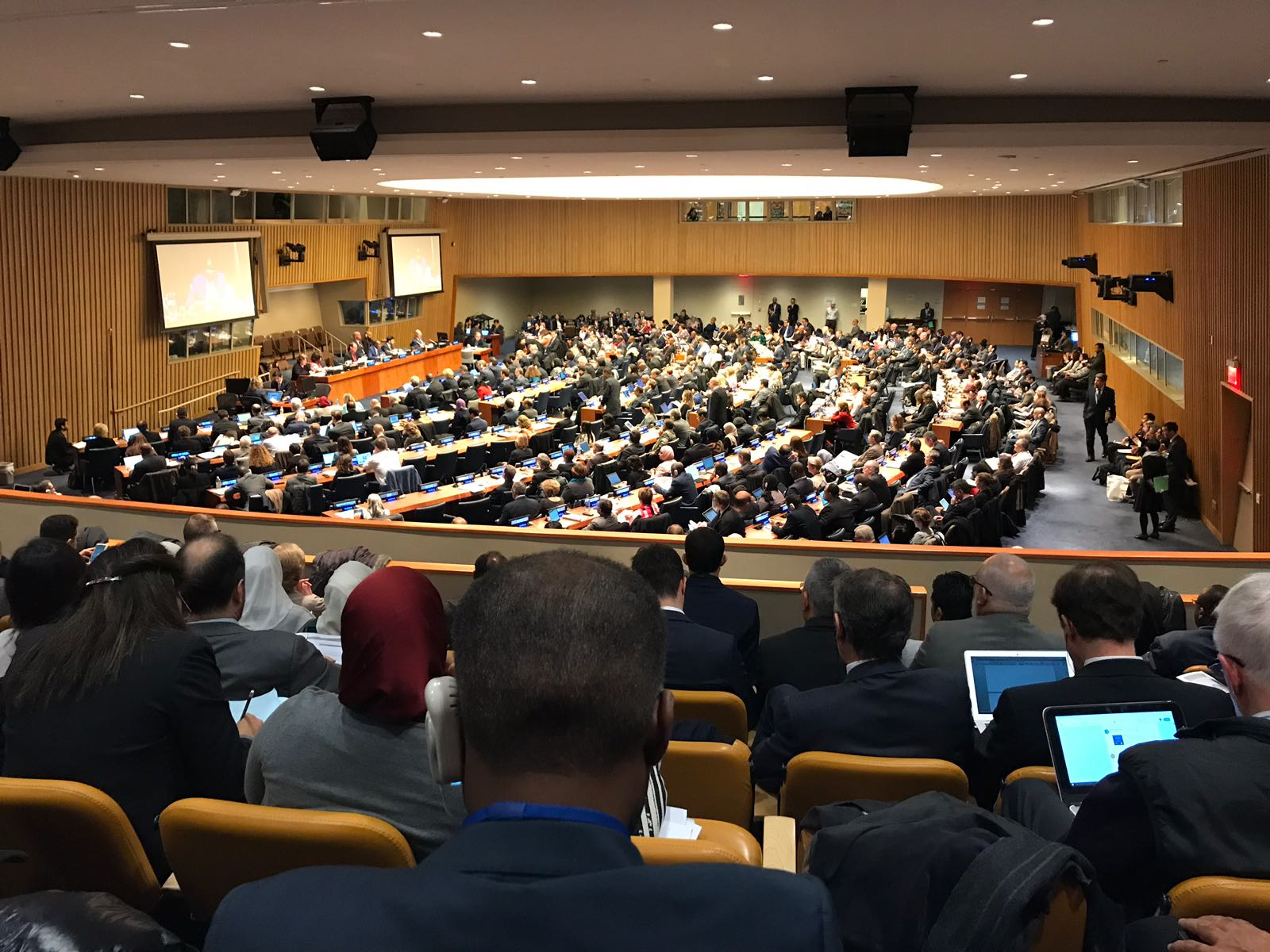 UN49SC adoption of refugee recommendations