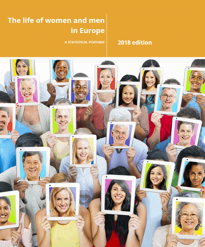 Digital publication: The life of women and men in Europe