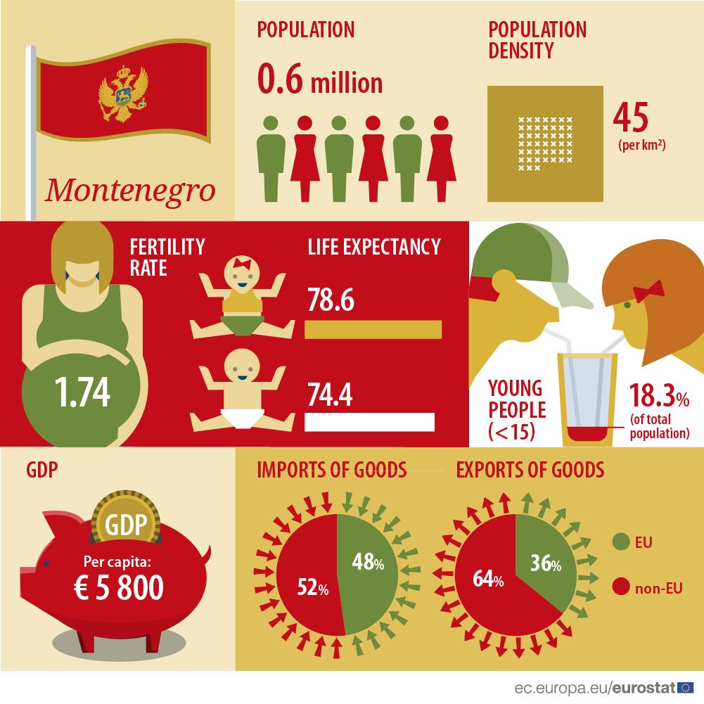 Infographic: Montenegro