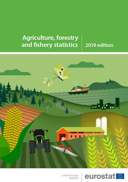 Cover: New statistical book on agriculture, forestry and fishery - 2019 edition