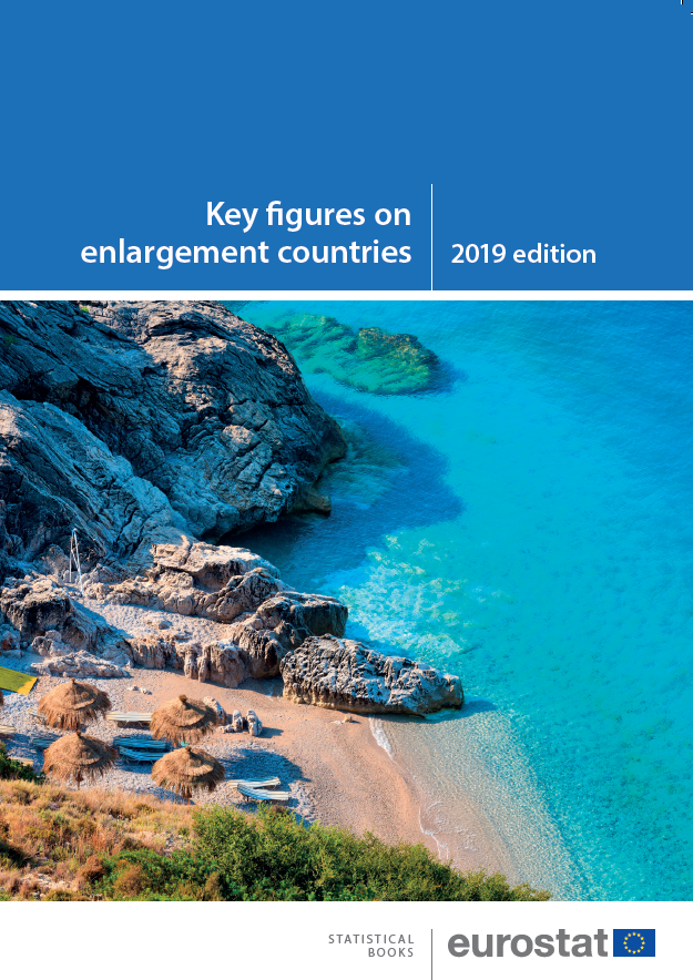 Front cover of Key Figures publication 2019