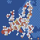 Regionen und Städte illustriert