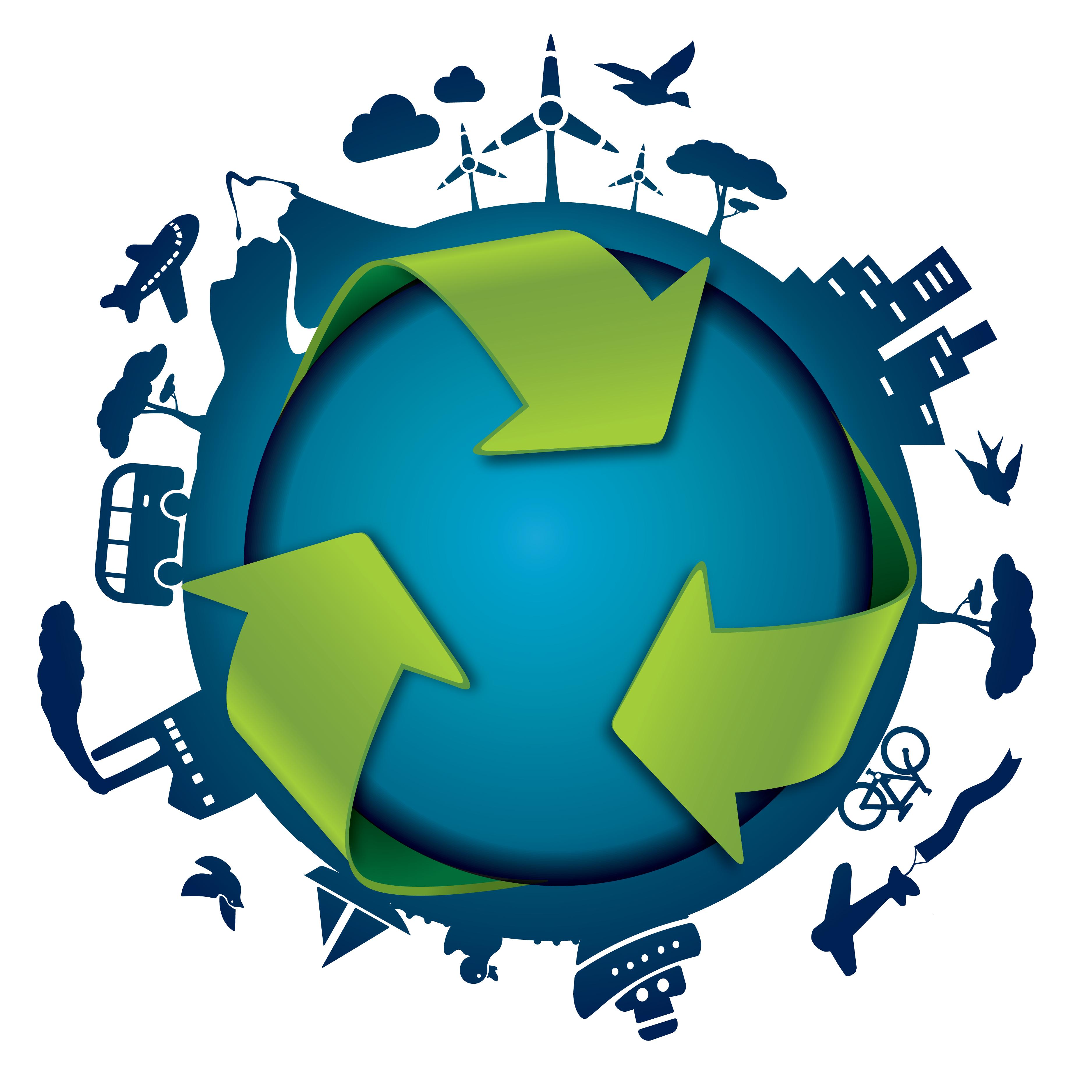 Illustration of circular economy - © Bup / Shutterstock.com