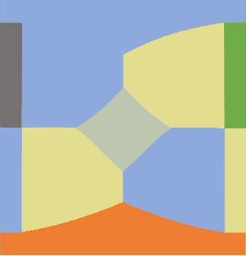 Material flow diagram