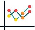 Image line chart