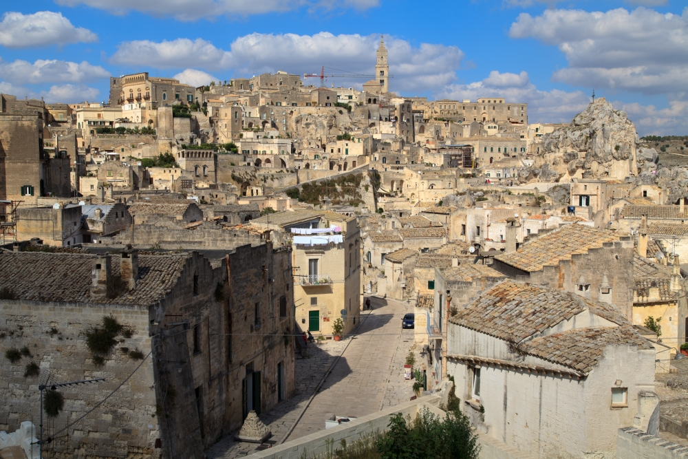 A picture of Matera (Italy)