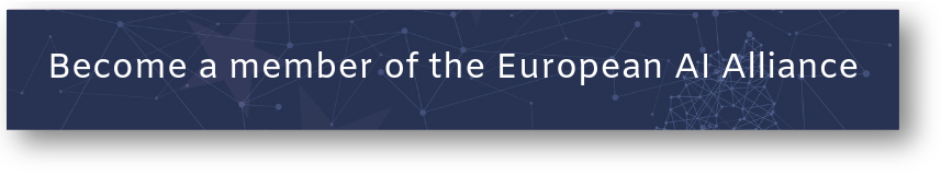 Become a member of the European AI Alliance