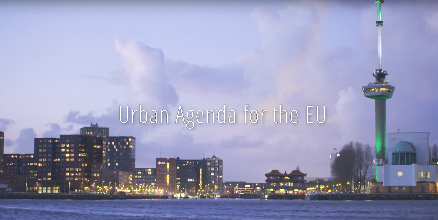 Presenting the Urban Agenda for the EU