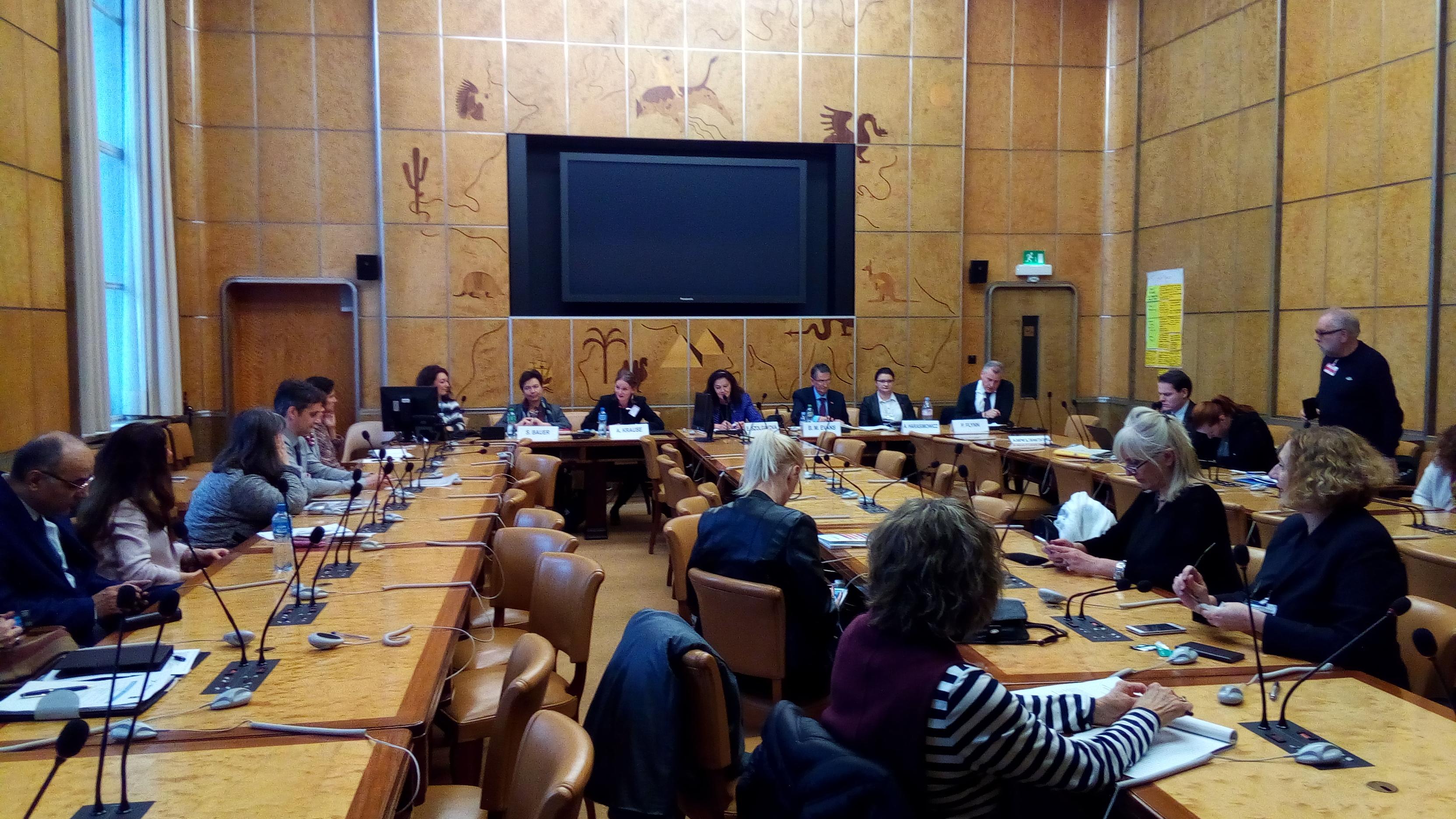th partnership meeting in Geneva