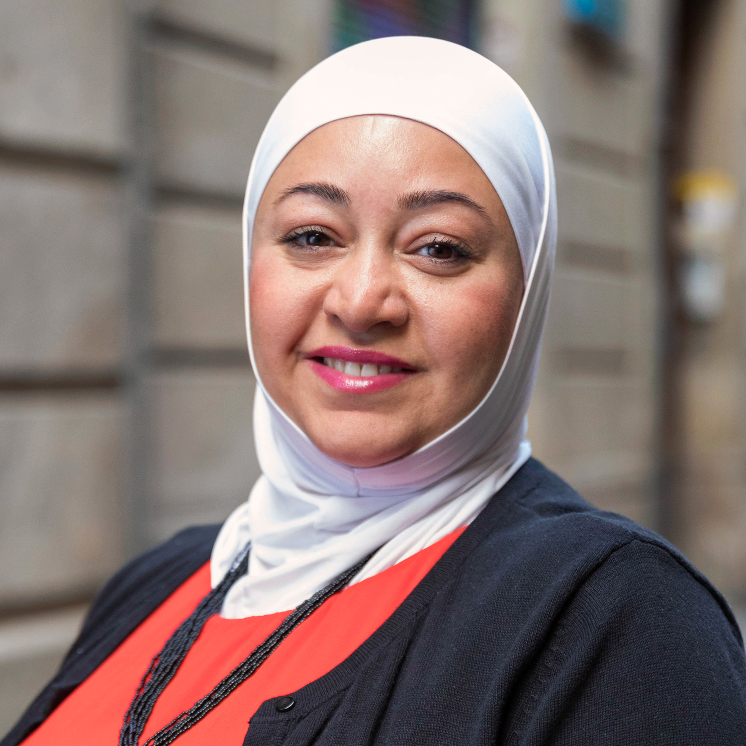 Shaza Rihawi, member of the European Migrant Advisory Board
