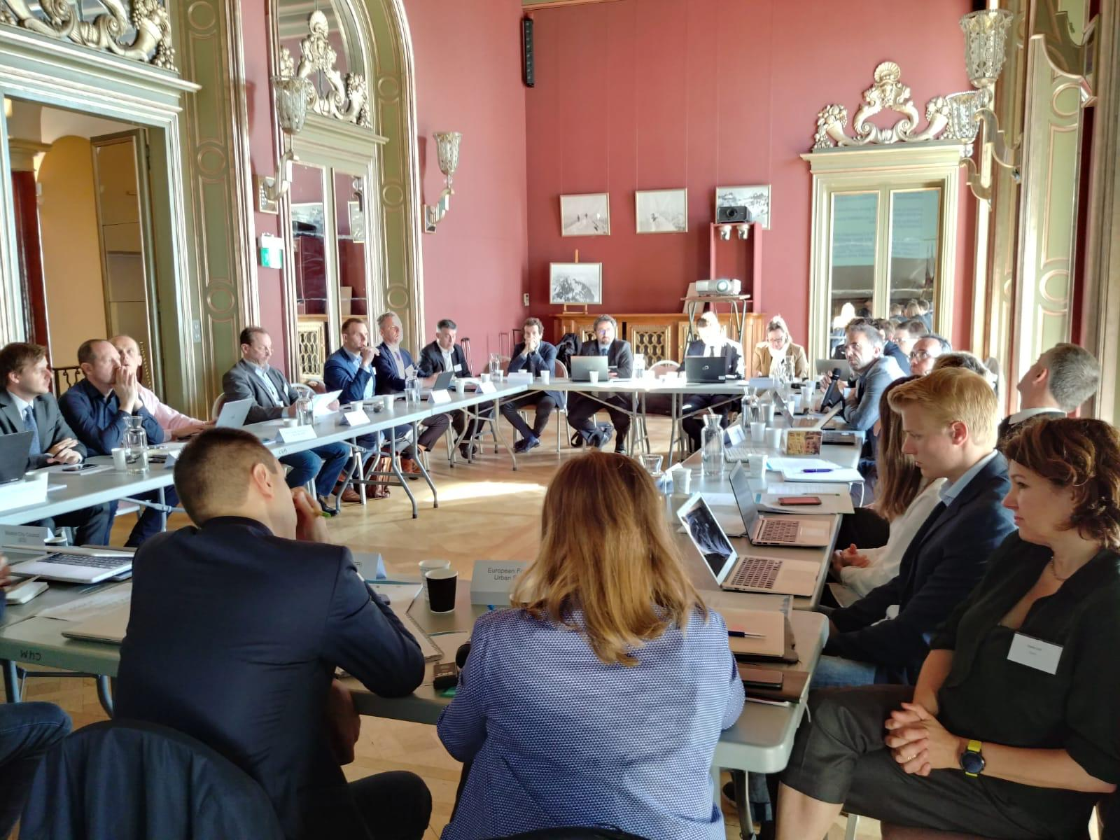 The Partnership during its meeting in Nice