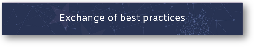 Button: Exchange of best practices