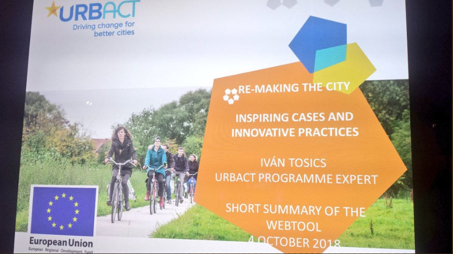 Ivan Tosics from URBACT presents Remaking the city: discover our new digital tool