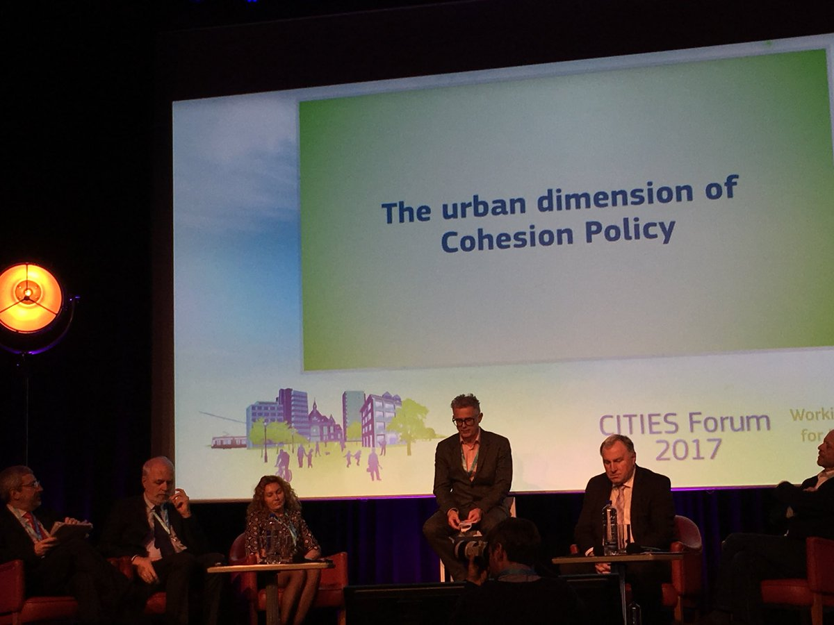 Panel  on cohesion policy at Cities Forum 2017