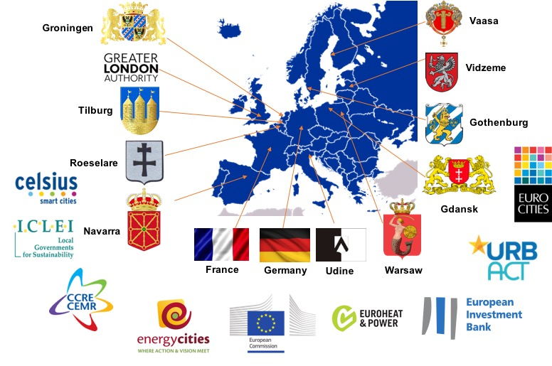Map of all partners