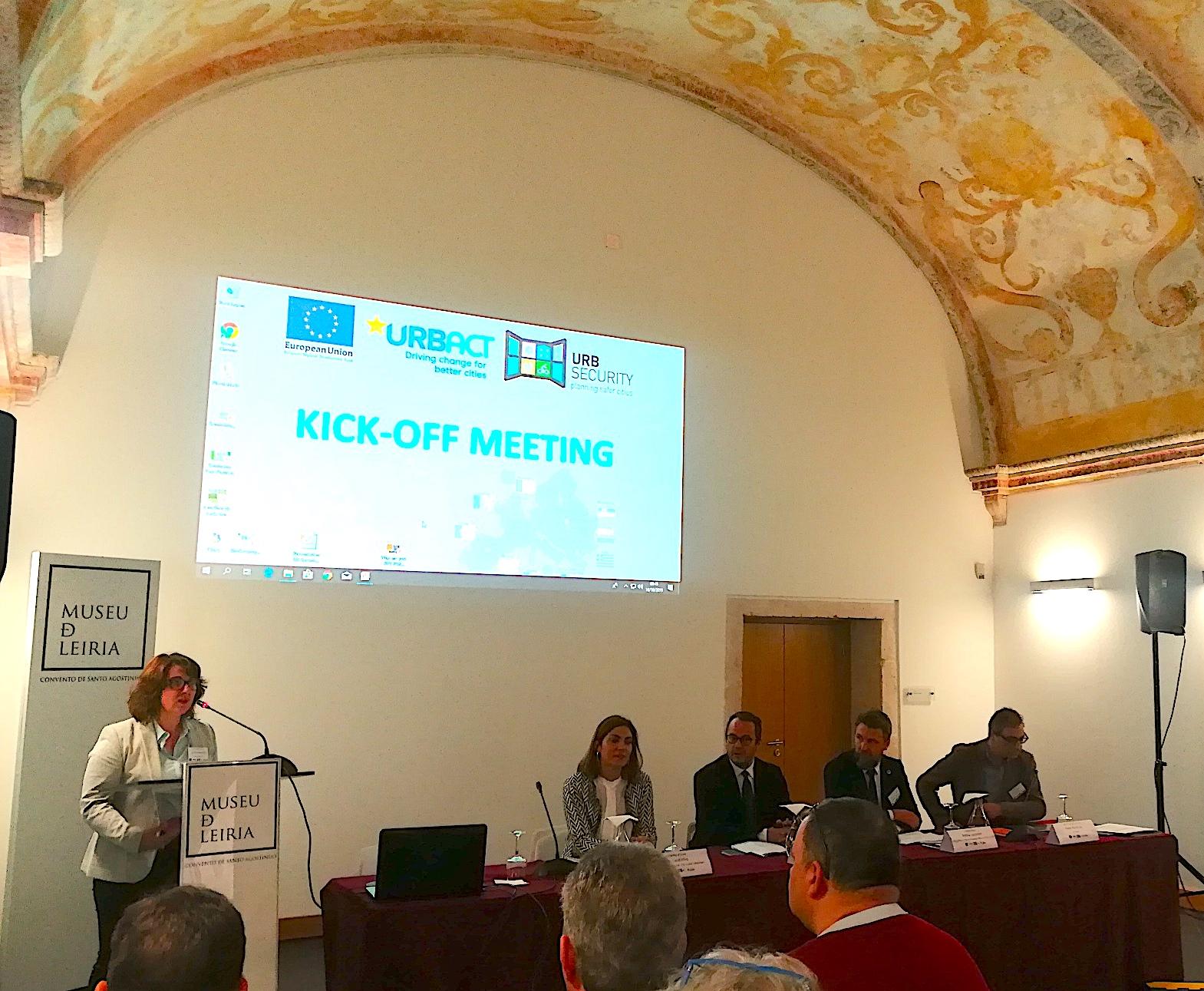 UrbSecurity meeting in Leiria