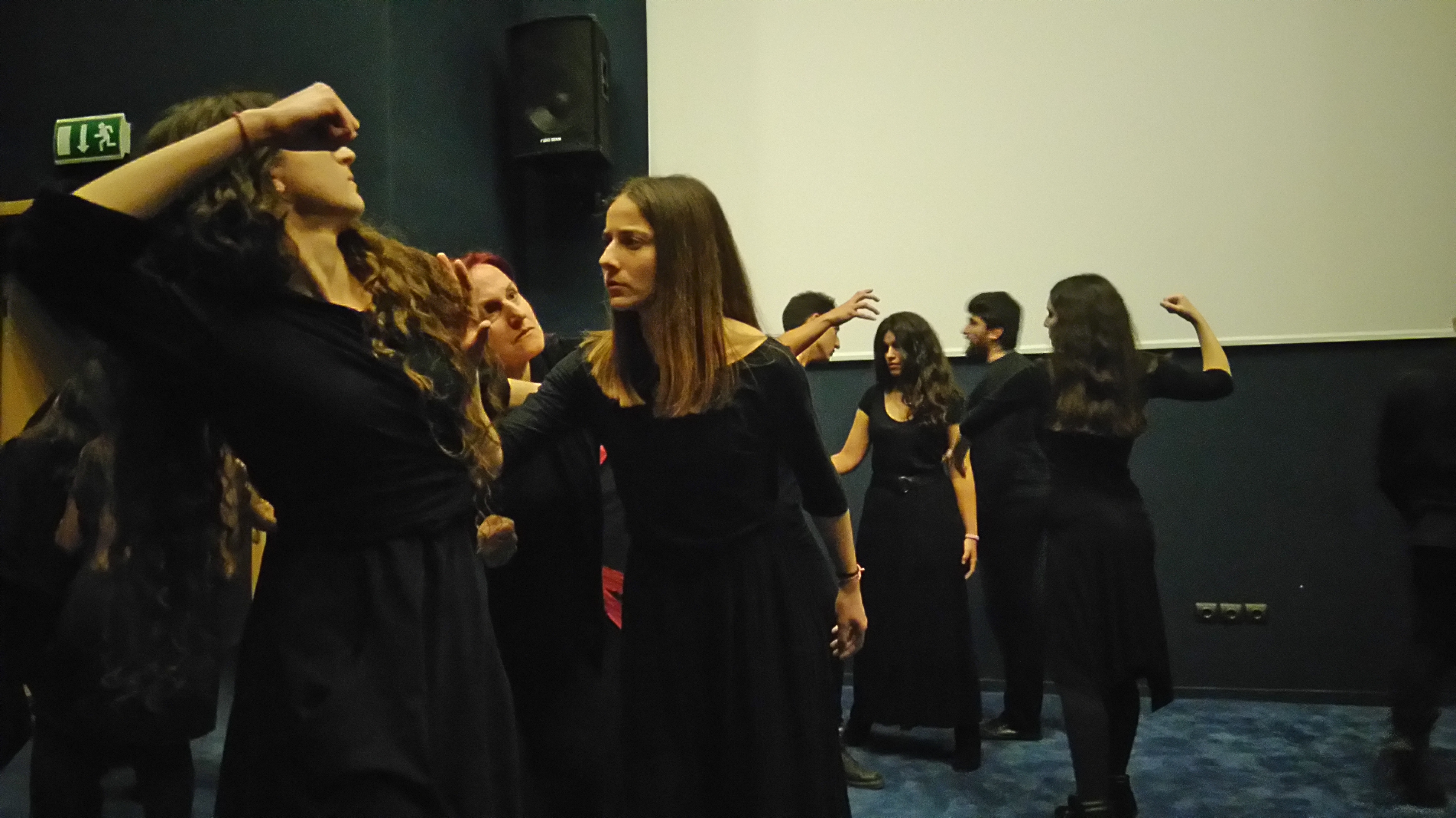 Performance during Week of Action Against Racism in Patras