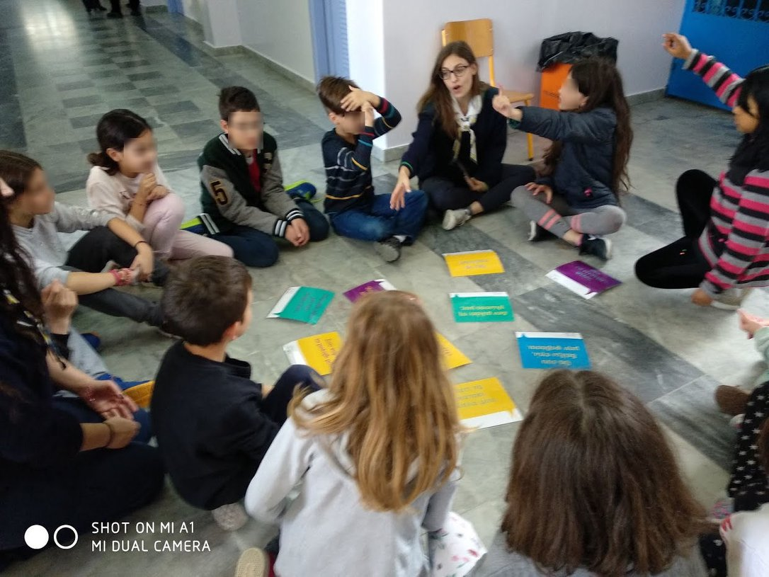 One World Action during European Week for Action Against Racism in Patras
