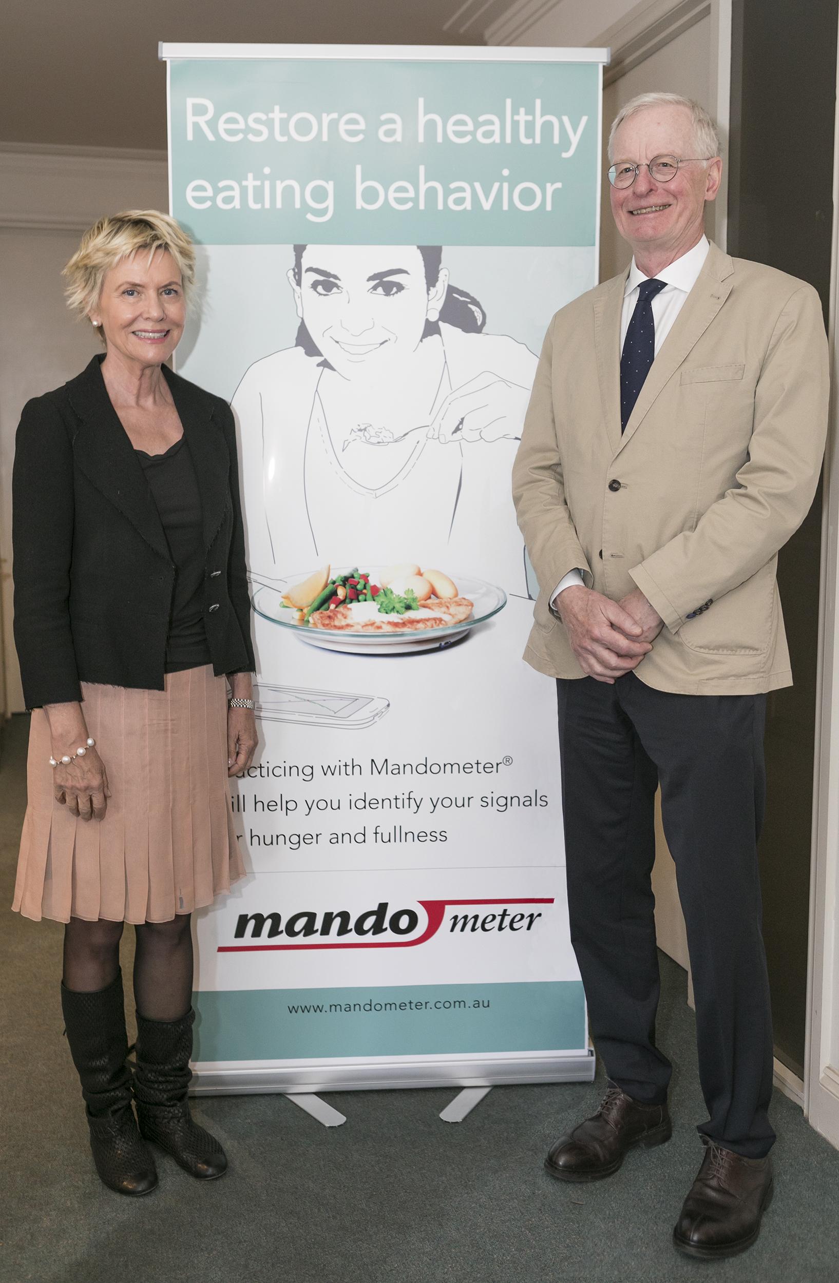 Mando founders Cecilia Bergh and Per Sodersten