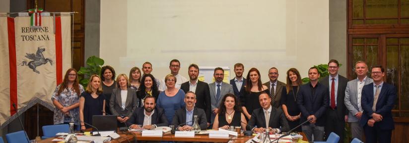 Partnership meeting - group photo
