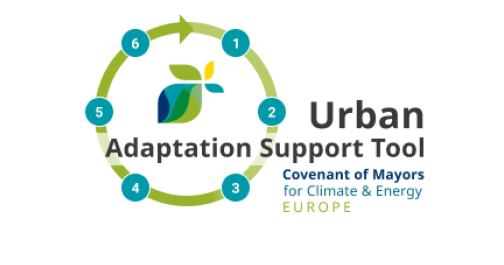 logo of the Urban Adaptation Support Tool