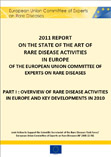 2011 Report on the State of the Art of Rare Diseases Activities in Europe - European Union Committee of Experts on Rare Diseases