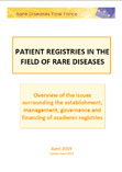RDTF Report: Patient registries for rare diseases