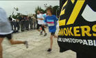 """Ex-smokers are unstoppable"" in the Athens marathon, 12-13 November 2011"