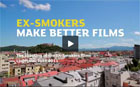 """Ex-smokers are unstoppable"" campaign - TV clips making of"