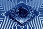 The smallest components of a computer chip are on a nanoscale.