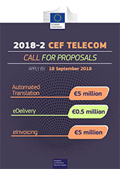Flyer on the CEF Telecom 2018-2 call May 2018