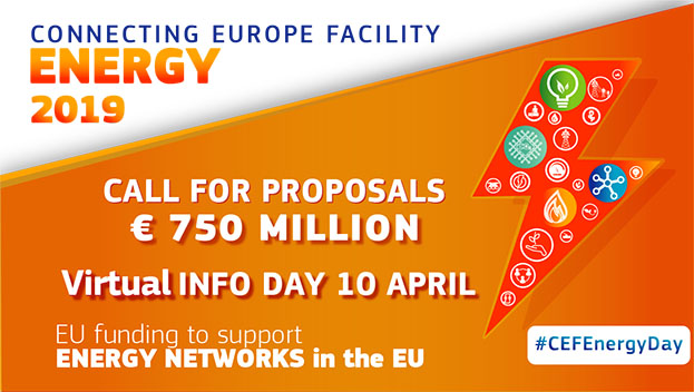 Connecting Europe Facility Energy Call 2019 Virtual Info Day