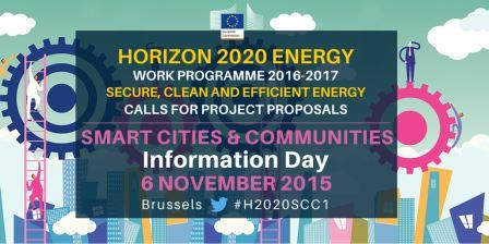 Info Day on Smart Cities & Communities - 2016-2017 Horizon 2020 Work programme 'Cross-cutting Activities' - Call 'Smart and Sustainable Cities'