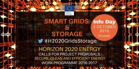 Smart grids and storage info day - 2 October 2015