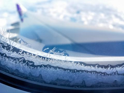 PHOBIC2ICE project - ice formation on the aircraft