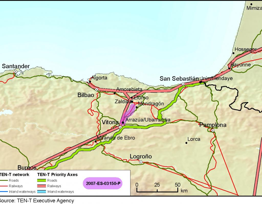 Basque Map Of Spain.Speeding Up Rail Travel In The Spanish Basque Country Innovation