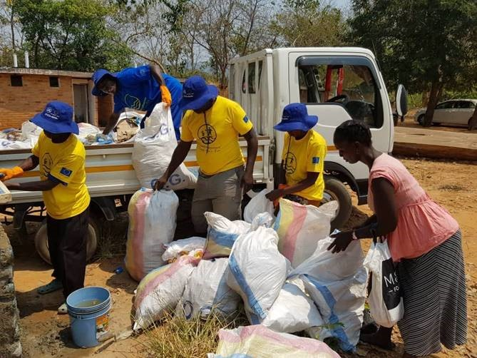 #EUBeachCleanup event in Malawi, 13 September 2019 © European Union