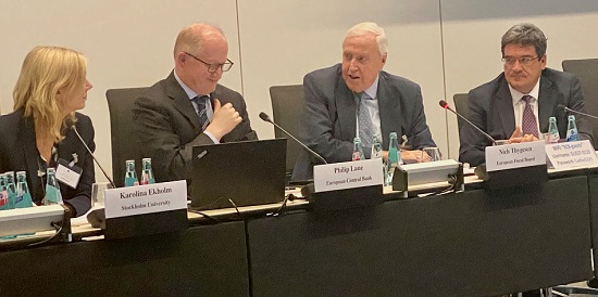 The EFB chair contributed to a high-level panel at the ECB on fiscal policy challenges at the current juncture