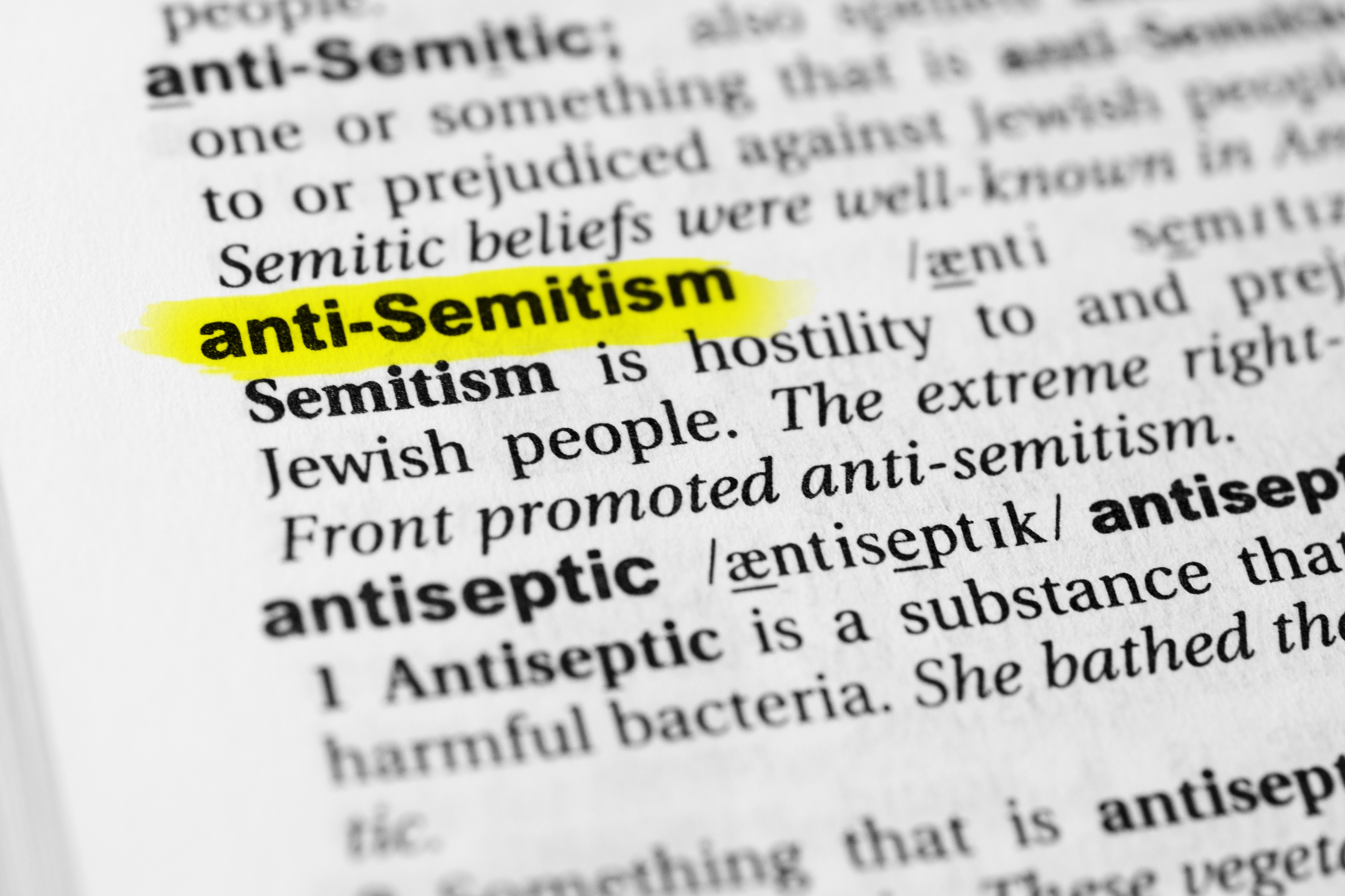 Definition of Antisemitism_copyright AdobeStock